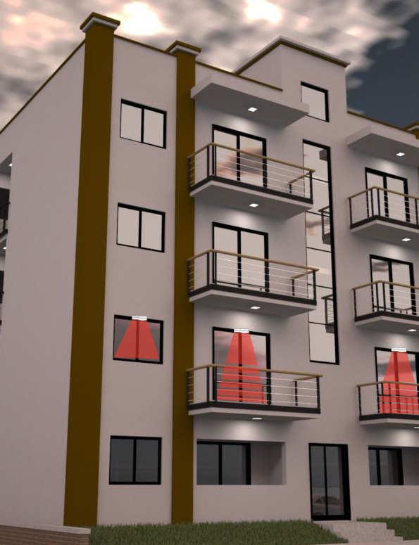 appartamento dual red protezione